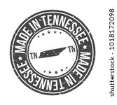 made in tennessee state usa...   Shutterstock .eps vector #1018172098