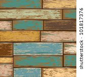 old color wooden texture... | Shutterstock .eps vector #101817376