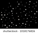 white starry holiday background.... | Shutterstock .eps vector #1018176826