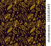 seamless pattern from hand draw ...   Shutterstock .eps vector #1018181845