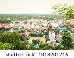 viewpoint of wat khao chong... | Shutterstock . vector #1018201216