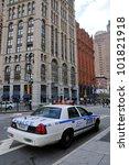 New York Oct 3 Police Car Stan...