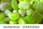 colorful green rock | Shutterstock . vector #1018232662