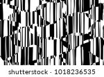 random chaotic lines abstract... | Shutterstock .eps vector #1018236535