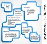abstract web design banner... | Shutterstock .eps vector #101823946
