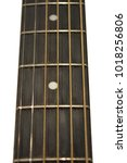 Small photo of Brazilian Rosewood Fret board on an Acoustic Guitar