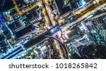 aerial view of bangkok city... | Shutterstock . vector #1018265842