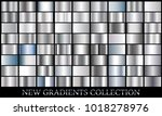 silver gradient set background... | Shutterstock .eps vector #1018278976
