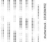 abstract grunge grid polka dot... | Shutterstock . vector #1018286902