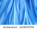 handmade crepe blue paper...   Shutterstock . vector #1018292956