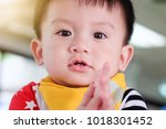 asian boys are looking for...   Shutterstock . vector #1018301452