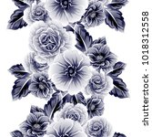 abstract elegance seamless... | Shutterstock . vector #1018312558
