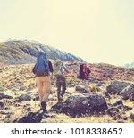 hike in kackar mountains in... | Shutterstock . vector #1018338652