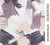seamless pattern of multi... | Shutterstock .eps vector #1018355302