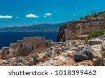 a view of the aegean sea from...   Shutterstock . vector #1018399462