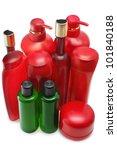 shampoo bottles | Shutterstock . vector #101840188