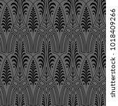 seamless black wallpaper pattern | Shutterstock . vector #1018409266