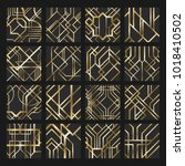 big vector set of patterns in... | Shutterstock .eps vector #1018410502