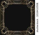 vintage retro style invitation  ...   Shutterstock .eps vector #1018410508