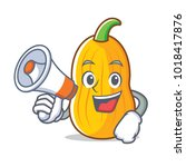 With Megaphone Butternut Squas...