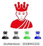 sadly emperor vector pictograph.... | Shutterstock .eps vector #1018441222