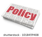 insurance concept  pixelated... | Shutterstock . vector #1018459408