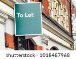 to let sign board on side of...   Shutterstock . vector #1018487968