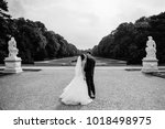 black and white photo. european ... | Shutterstock . vector #1018498975