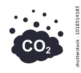 co2 emissions vector icon | Shutterstock .eps vector #1018514185