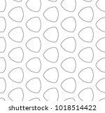 seamless geometric ornamental... | Shutterstock .eps vector #1018514422