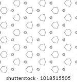 seamless geometric ornamental...   Shutterstock .eps vector #1018515505