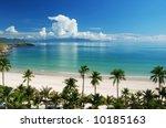 Beach Scene  Tropics  Pacific...