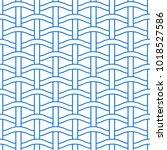 basket weave seamless pattern.... | Shutterstock .eps vector #1018527586