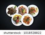 varieties of different... | Shutterstock . vector #1018528822