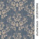 vintage baroque ornament vector.... | Shutterstock .eps vector #1018543846