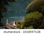 villa balbianello wedding... | Shutterstock . vector #1018547128