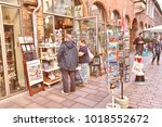 lubeck  germany   august 29 ... | Shutterstock . vector #1018552672
