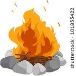 fire | Shutterstock . vector #101855422