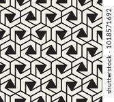 vector seamless lines mosaic... | Shutterstock .eps vector #1018571692