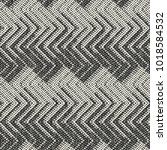 abstract monochrome chevron... | Shutterstock .eps vector #1018584532