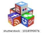 kazan  russia   december 20 ... | Shutterstock . vector #1018590076