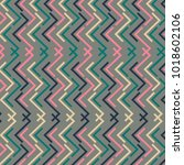 abstract colorful striped... | Shutterstock .eps vector #1018602106