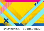 vector abstract background... | Shutterstock .eps vector #1018604032