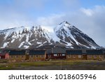 ny alesung in the svalbard... | Shutterstock . vector #1018605946
