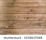 brown wood texture background... | Shutterstock . vector #1018619368
