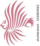creative lion fish illustration | Shutterstock .eps vector #101864062