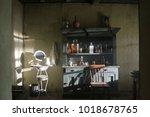 Vintage Interior With Wash...