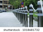 iron with a chain around the... | Shutterstock . vector #1018681732