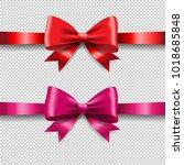 ribbon set isolated  | Shutterstock . vector #1018685848