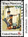 Usa   Circa 1972  A Stamp...
